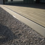 Terrassenabschluss aus Edelstahl